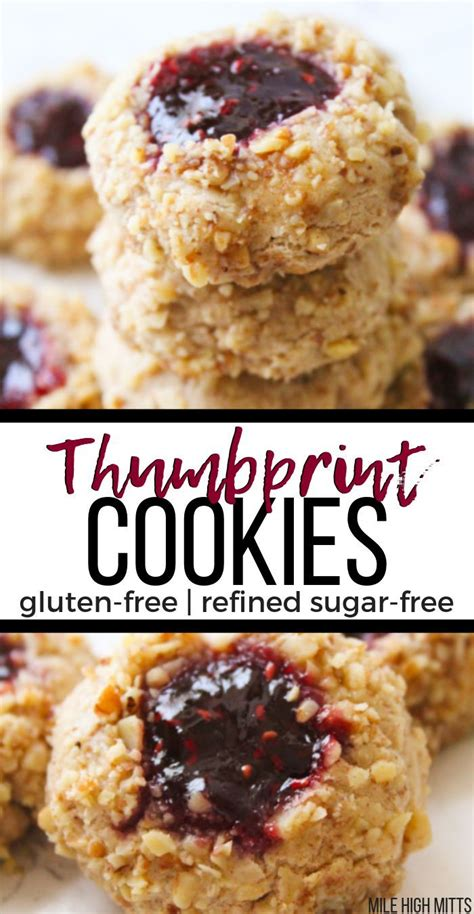 Please submit your favorite gluten free recipe here. Classic Thumbprint Cookies are made healthy - refined ...