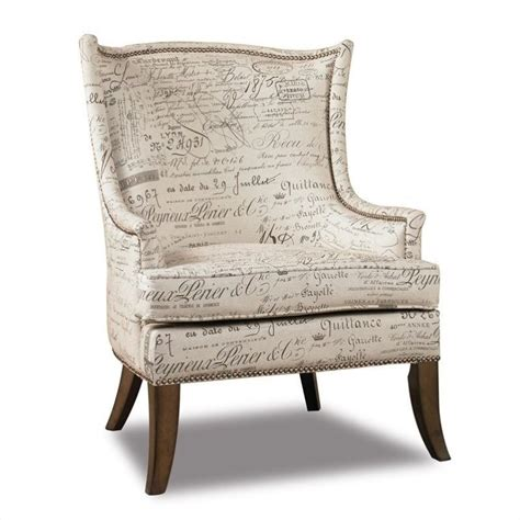 script chair from furniture sanctuary accent swayback arm chair