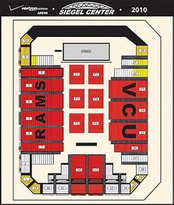 Vcu Siegel Center Seating Chart Vcu Athletics Seating Charts