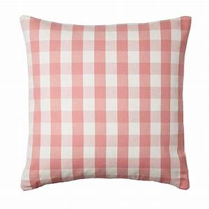 IKEA SMANATE CUSHION COVER Pillow Sham PINK White