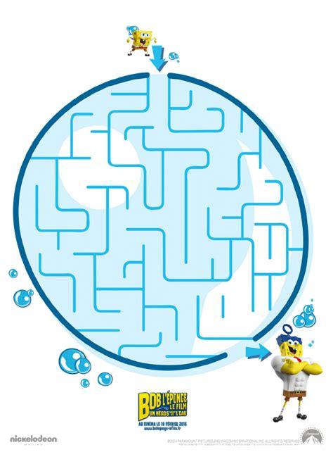 jeux de bob l onge de cuisine jeu du labyrinthe de bob l éponge hugolescargot com
