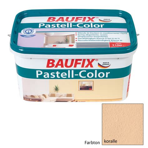 Baufix® Pastellcolor Koralle, Wandfarbe, Farbe