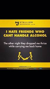 I hate friends ... Friendship Booze Quotes