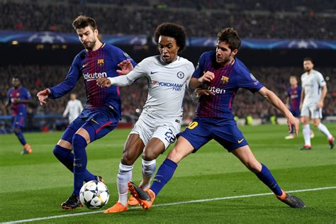 Chelsea 1 - 1 Barcelona - Match Report & Highlights