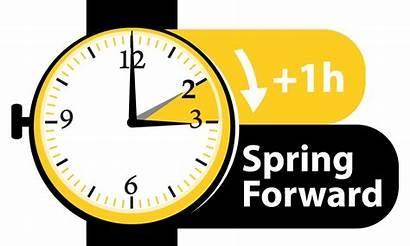 Daylight Savings Begins Forward Standard March Sunday