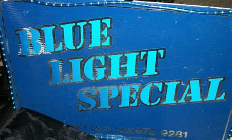 blue light special the band