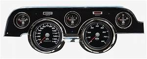 67  68 Mustang Gauge Panel Kit Performance Series