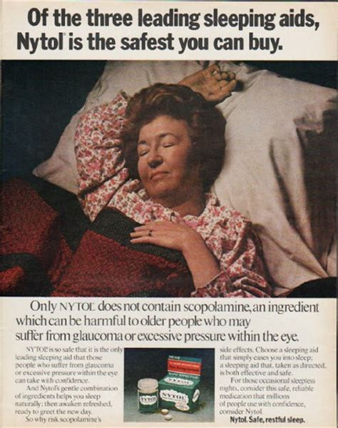 nytol vintage ad  leading sleep aids