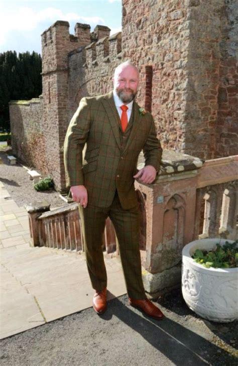 Light Grey Suit Wedding by Bespoke Shooting Suit Tweed Suits London Roomten