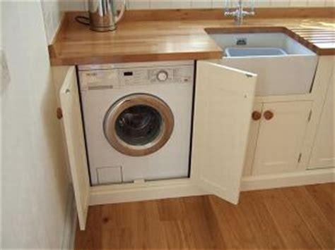 kitchen cabinet washing machine zabudowa pralki pod blatem wnętrza aranżacje wnętrz 5859