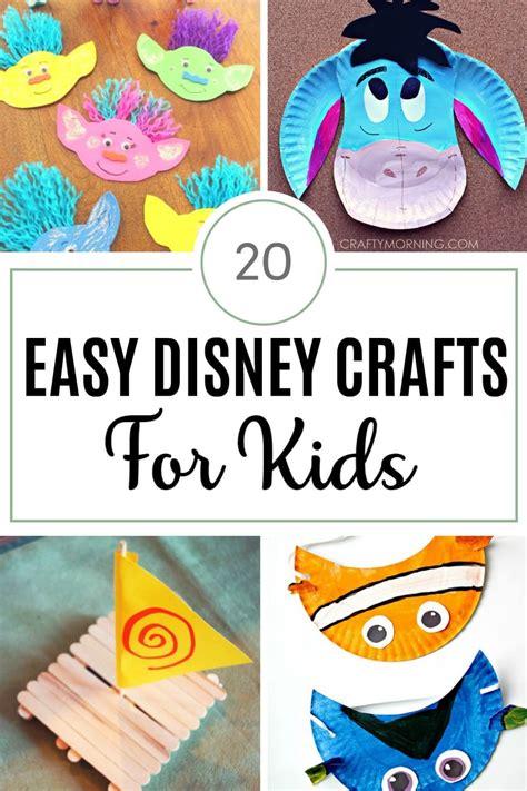 20 easy disney crafts for the unprepared 483 | Easy Disney Crafts for Kids2