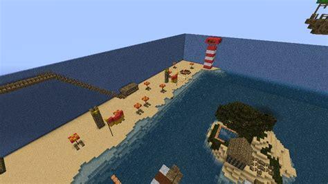 minecraft beach minecraft project