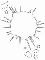 Explosion Silhouette Silhouettes Ship Navy Outline Svg sketch template