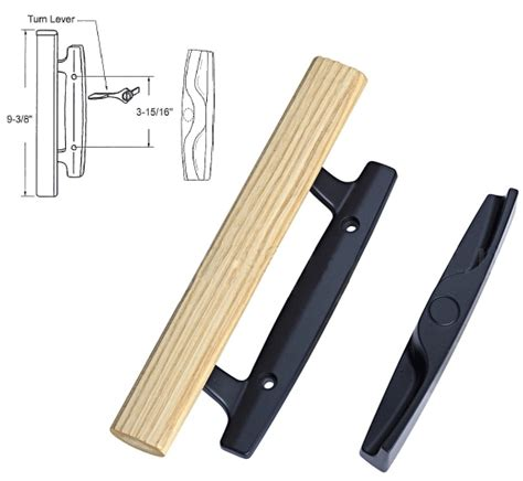 sliding glass patio door die cast latch lever sliding
