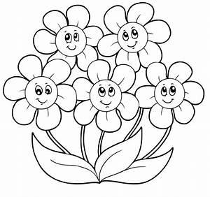 Lusso Disegni Facili Da Colorare Categoria Primavera