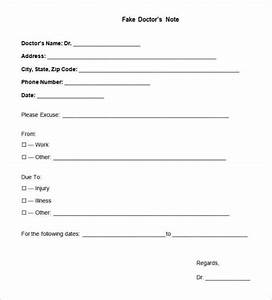 printable fake doctors notes free health symptoms and With fake dr note template free