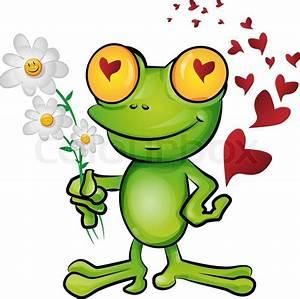 Frosch Bilder Lustig : frosch cartoon verliebt vektorgrafik colourbox ~ Whattoseeinmadrid.com Haus und Dekorationen