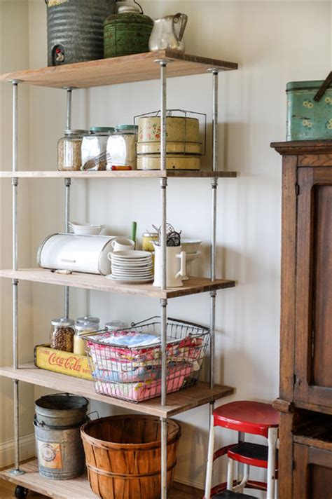kitchen storage unit industrial shelving diy industrial kitchen columbus 3197