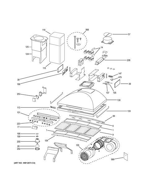 assembly view  range hood zvsfss