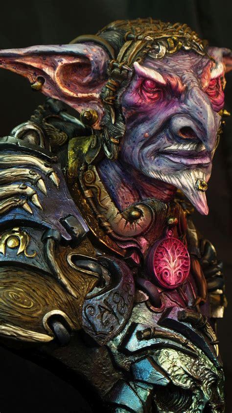 Goblin Wizard by Melanie (Serafin) · Putty&Paint