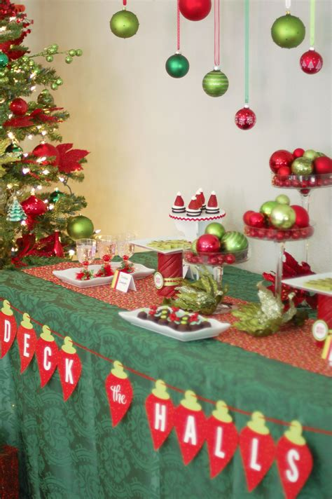 christmas event ideas ornament exchange decorations tacky