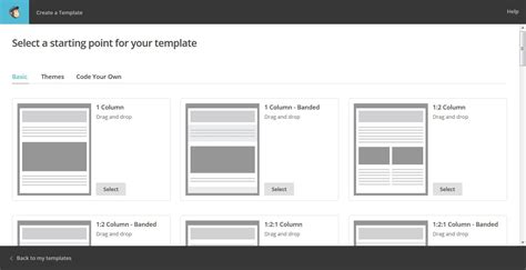 drag and drop custom template mailchimp the beginner s guide to using mailchimp for email marketing