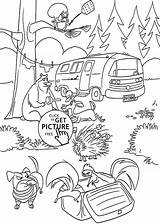 Coloring Forest Kelp Rainforest Temperate Getcolorings Printable sketch template