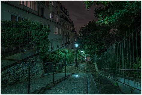 montmartre steps  ultra hd wallpaper background image