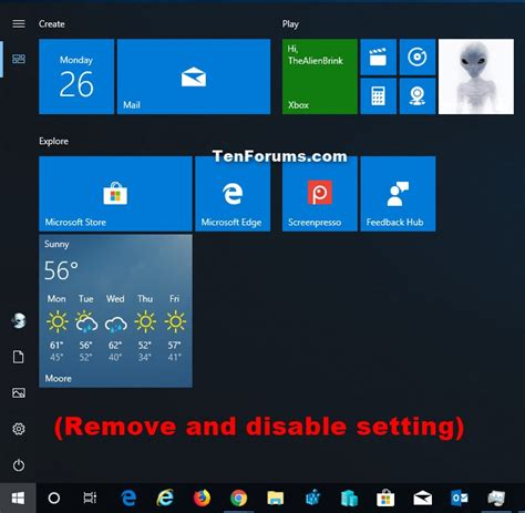 add  remove  apps list  start menu  windows  tutorials