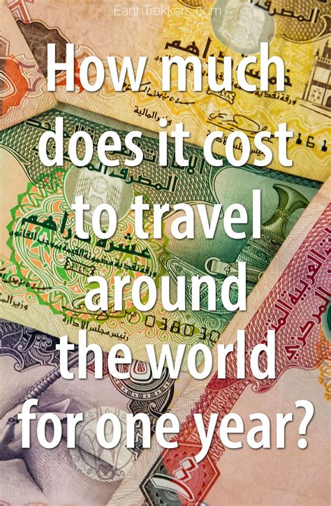 cost  travel   world earth