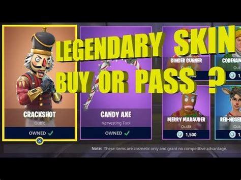 fortnite legendary skin buy  pass youtube