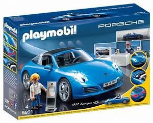 Voiture Playmobil Porsche : porsche playmobil 5991 porsche 911 targa 4s bleu le blog des bonnes affaires du web ~ Melissatoandfro.com Idées de Décoration