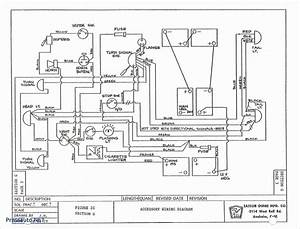 Unique Ezgo Txt Series Wiring Diagram  Diagram