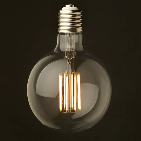 dimmable led lights 8 watt dimmable filament led e40 g150