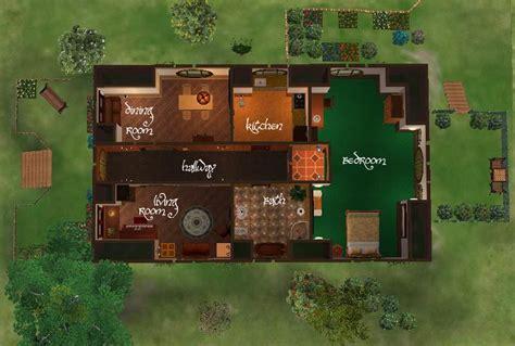 mod  sims  small hobbit house