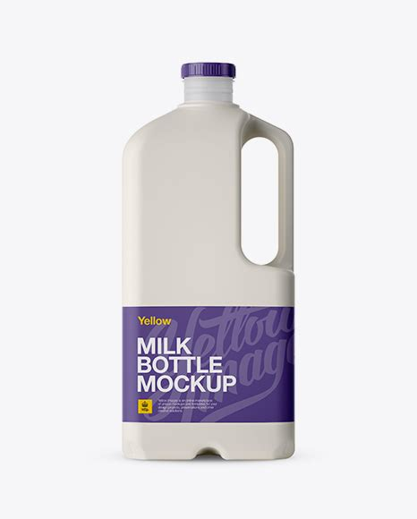 Use them for designing and as material when preparing packshots for your client. Frosted Plastic Milk Jug Mockup - Frosted Plastic Juice ...