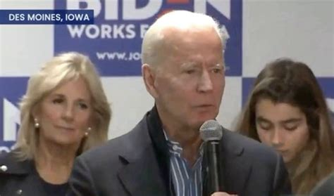 Joe Biden Warns Media Against Misinformation About His