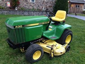 John Deere 430 I Believe These Are Diesel Also