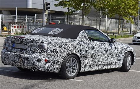 New Bmw 4 Series Convertible Spotted In Traffic, Shows