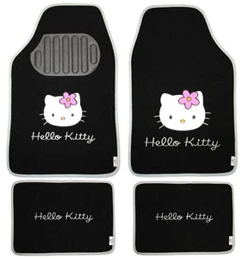 kitty   teiliges fussmatten set schwarz