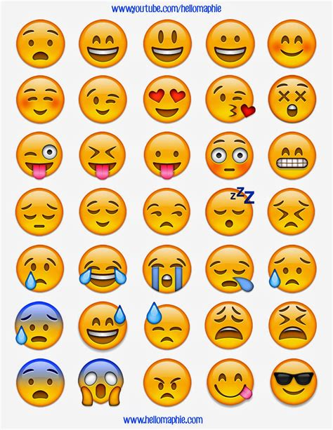 free emoji templates free printable apple emoji graphics and stickers plan to this