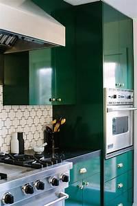 Emerald Green Kitchen Cabinets Design Ideas
