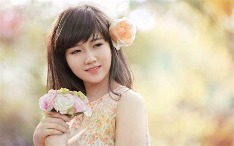 49 Beautiful Korean Girl Wallpaper On Wallpapersafari