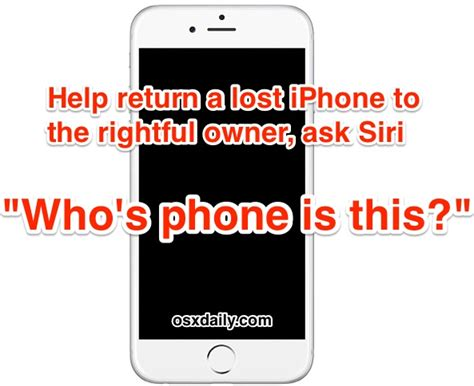 found iphone found someones iphone help return a lost iphone to the