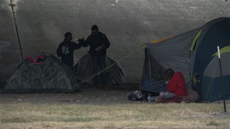 Growing San Antonio homeless tent city being call a 'mini ...