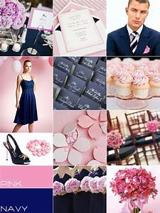 navy pink wedding colour palettes navy blue pink wedding With pink and blue wedding ideas