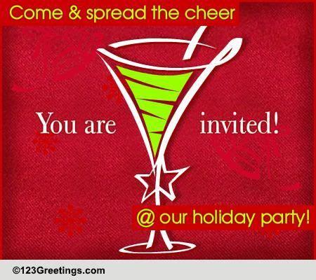 Christmas Invitations Cards Free Christmas Invitations