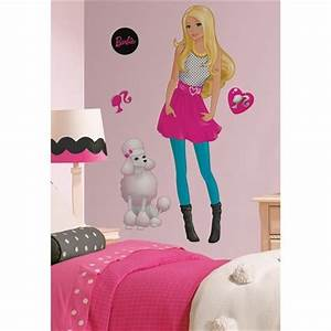 barbie doll wall decals big room decor sticker sets With beautiful barbie wall decals