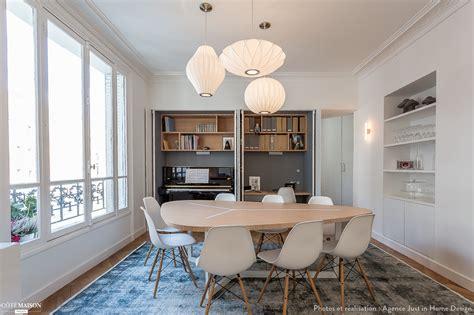 petit bureau scandinave décoration interieur appartement parisien