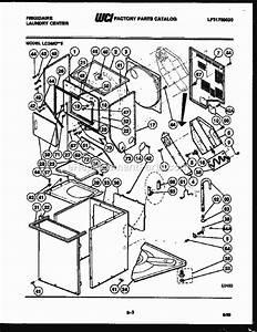 Frigidaire Lc248dw5 Parts List And Diagram